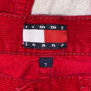 Tommy Hilfiger Red Corduroy Jeans!